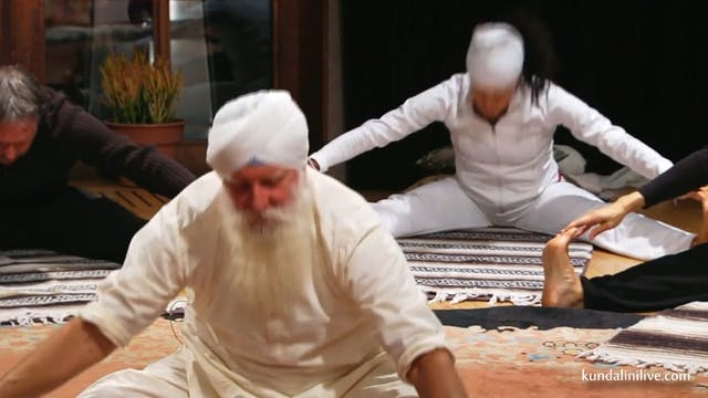 Kundalini warm up and  Meditation