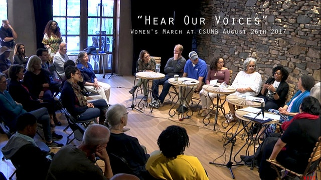 "Women's March at CSUMB presents ""Hear Our Voice"""