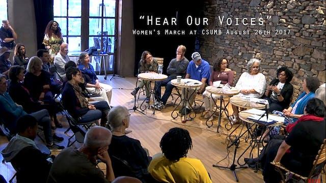 """Women's March at CSUMB presents """"Hear..."""