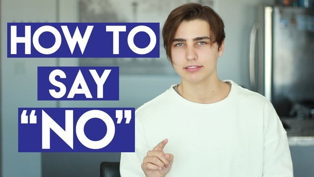 "Learning How to Say ""No"""