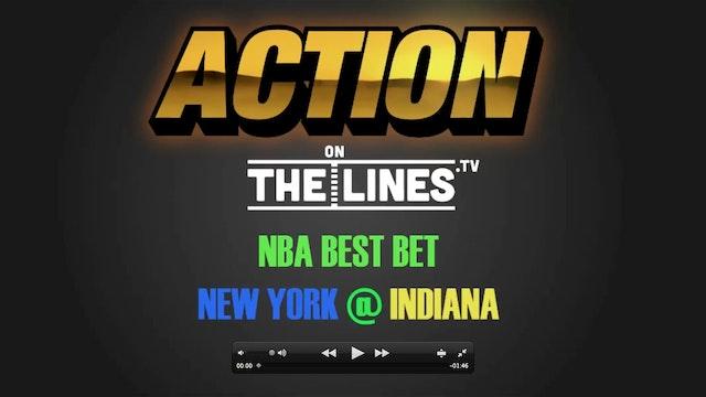 NBA- NYK @ IND- JAN 23