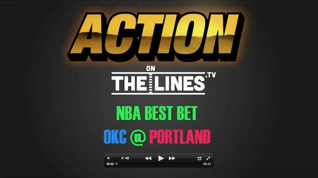 NBA- OKC @ POR- DEC 13