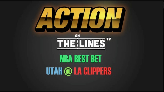 NBA- UTAH @ LAC- APR 25
