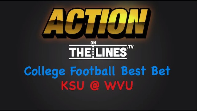 CFB: KSU vs WVU- Oct 1