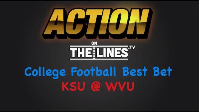 CFB: KSU vs WVU- Oct 1