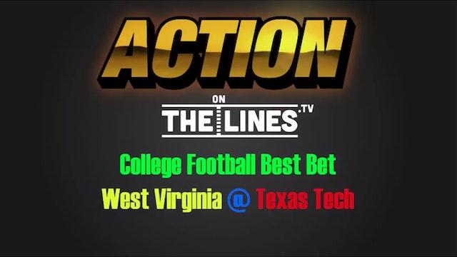CFB: WVU vs TTX- Oct 15