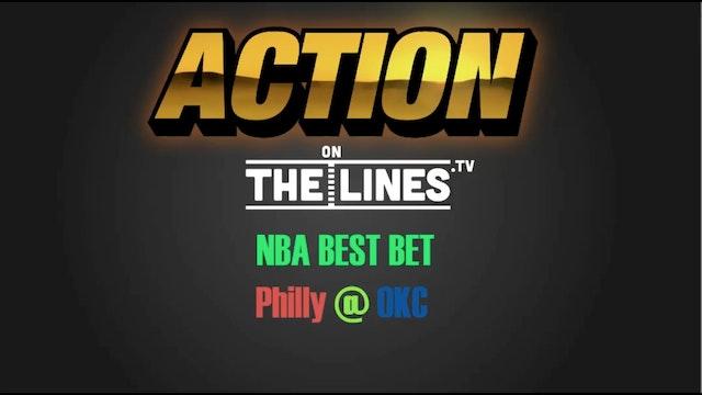 NBA- PHI @ OKC- MAR 22