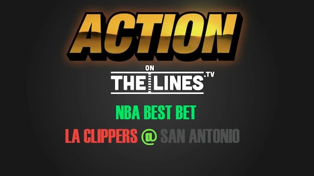 NBA- LAC@SAS- APR 8