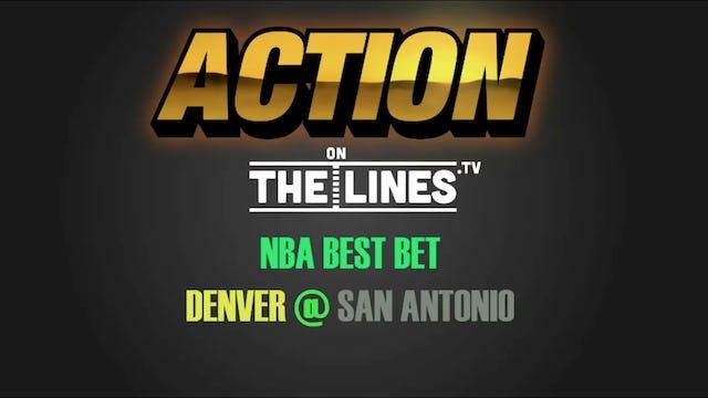 NBA- DEN @ SAS- JAN 30