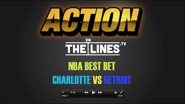 NBA- CHA@DET- JAN 5