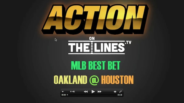 MLB- OAK @ HOU- APR 29