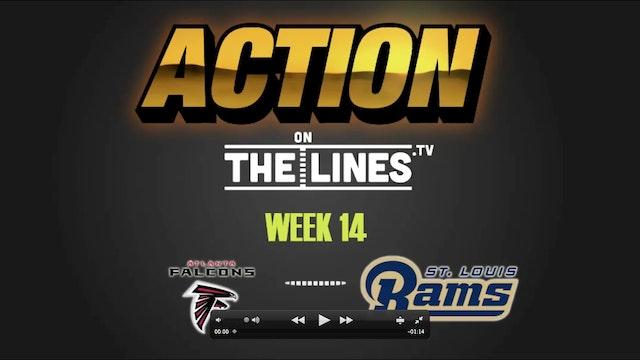 NFL- ATL @ LA-DEC 11