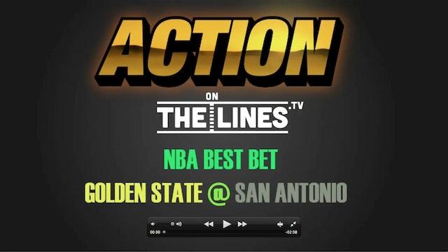 NBA- GS @ SAN- MAR 29