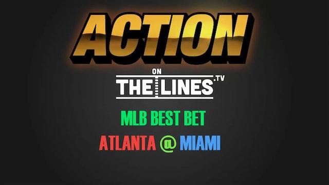MLB- ATL @ MIA- APR 11
