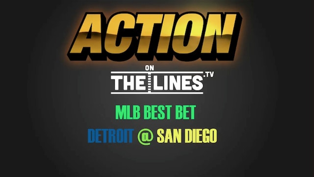 MLB- DET @ SD- JUNE 25
