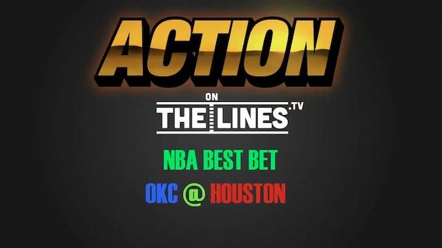 NBA- OKC @ HOU- APR 19