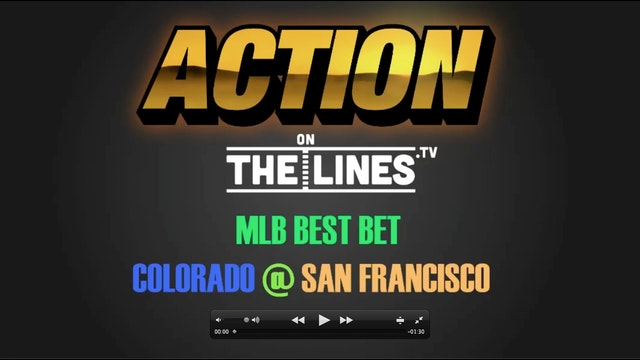 MLB- COL @ SF- APR 13