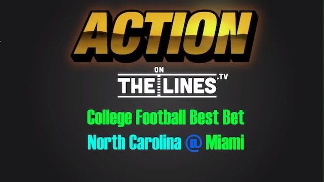 CFB: NC vs Mia- Oct 15