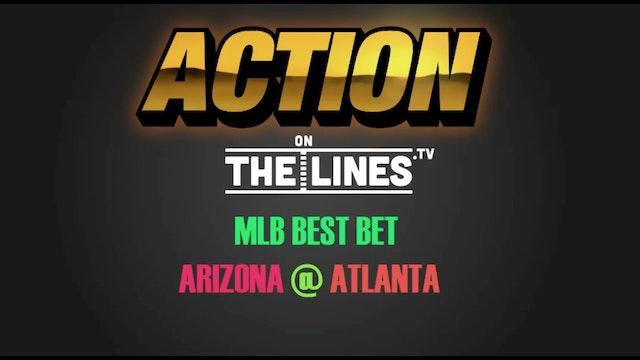 MLB- ARI @ ATL- JULY 16
