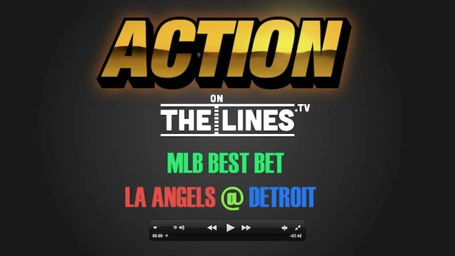 MLB- LAA @ DET- JUNE 6
