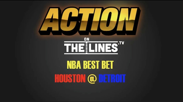 NBA- Hou vs Det- Nov 21