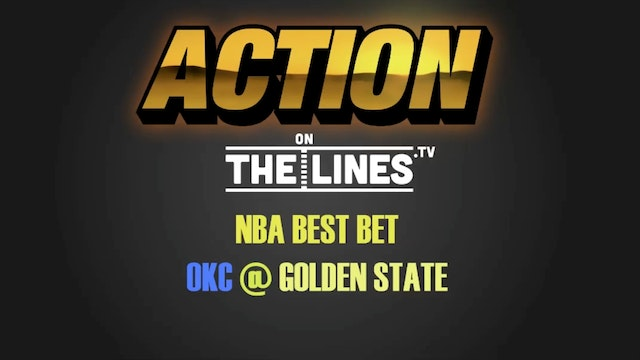 NBA- OKC @ GS- JAN 18