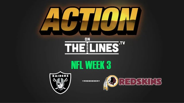 NFL- OAK @ WSH- SEPT 24