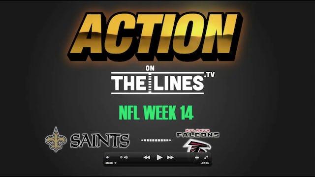 NFL- NO @ ATL- Dec 7