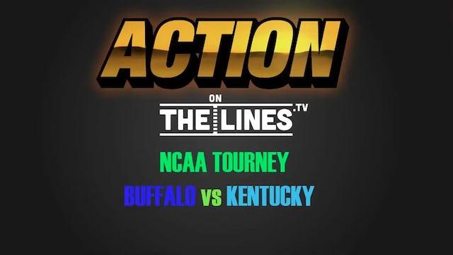 NCAA- BUF VS UK- MAR 17