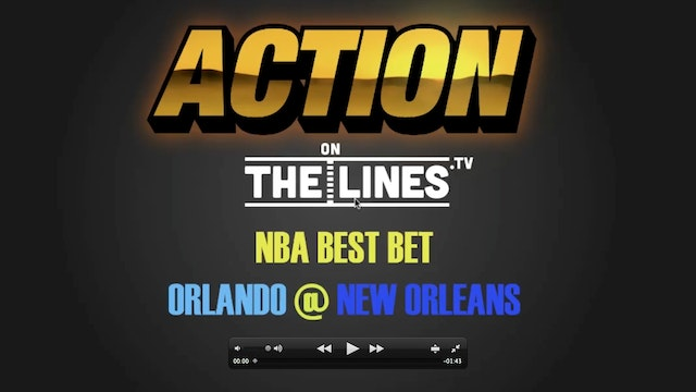 NBA- ORL @ NO- JAN 18