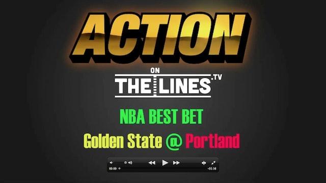 NBA- GSW vs POR- Nov 1