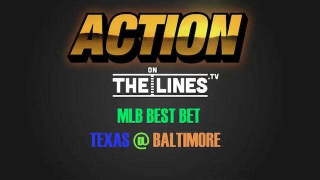 MLB- TEX @ BAL- JULY 20