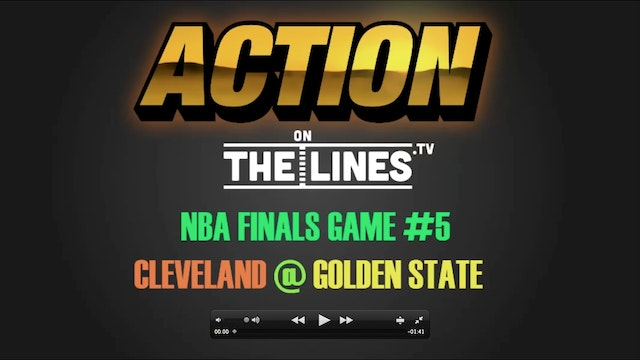NBA- CLE @ GS- JUNE 12