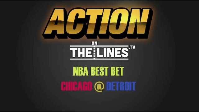 NBA- CHI vs DET- DEC 6