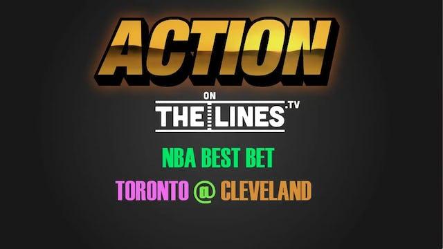 NBA- TOR @ CLE- MAR 21