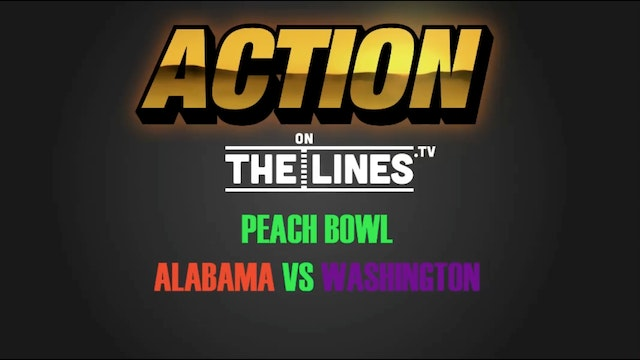 CFB- BAMA VS WASH- DEC 31