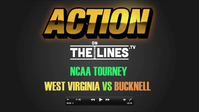 CBB- BUCK VS WVU- MAR 16