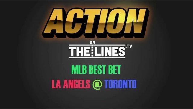 MLB- LAA @ TOR- JULY 28