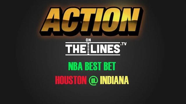 NBA- HOU @ IND- JAN 29