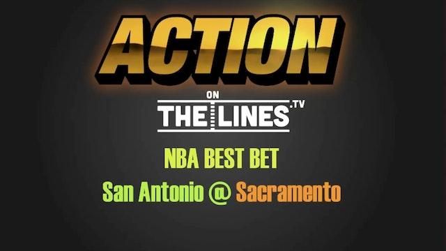 NBA- SAN vs SAC- Oct 27