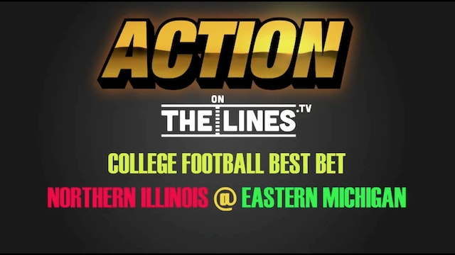 CFB- NIU vs EMU- Nov 16