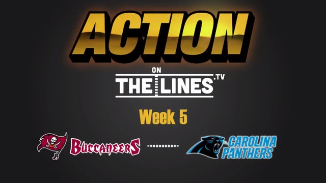 NFL: TB vs CAR- OCT 10