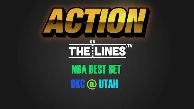 NBA- OKC @ UTA- APR 27