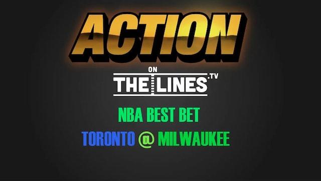 NBA- TOR @ MIL- APR 20