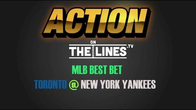 MLB- TOR @ NYY- JULY 3