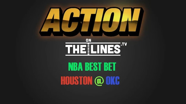 NBA- HOU @ OKC- APR 21