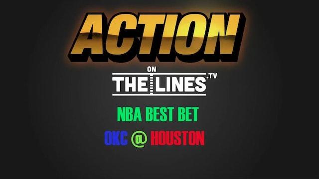 NBA- OKC @ HOU- APR 25