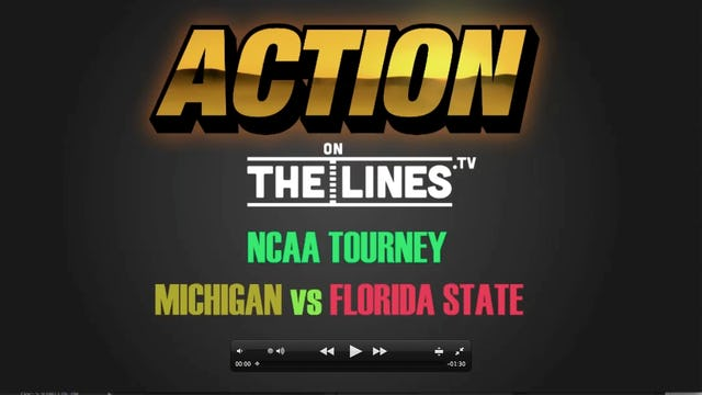 NCAA- FSU vs UM- MAR 24
