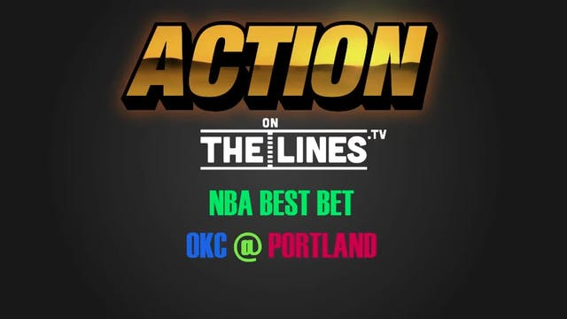 NBA- OKC @ POR- MAR 2
