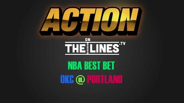 NBA- OKC @ POR- MAR 2